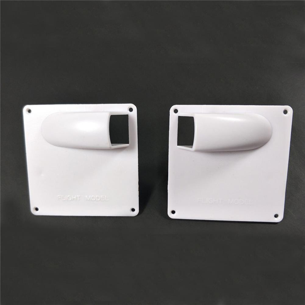rc-airplane-parts 1 pair Servo Protection Cover Protector Housing Case 67*67mm for RC Servo RC Airplane Fixed Wing HOB1827095 1