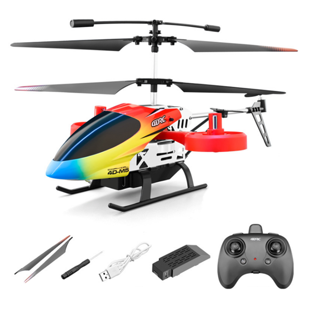 rc-helicopter 4DRC M5 2.4G 4.5CH Altitude Hold 4K HD Dual Camera Side Fly RC Helicopter RTF HOB1827475