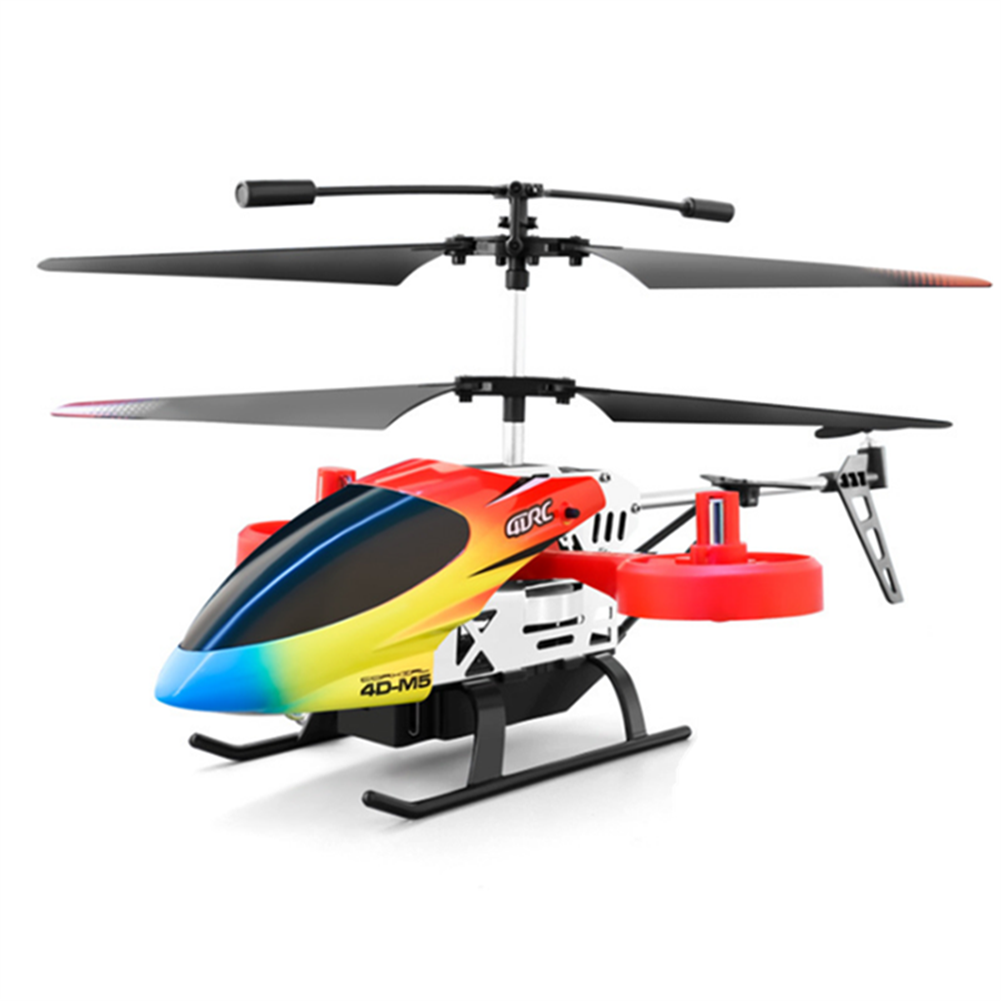 rc-helicopter 4DRC M5 2.4G 4.5CH Altitude Hold 4K HD Dual Camera Side Fly RC Helicopter RTF HOB1827475 2