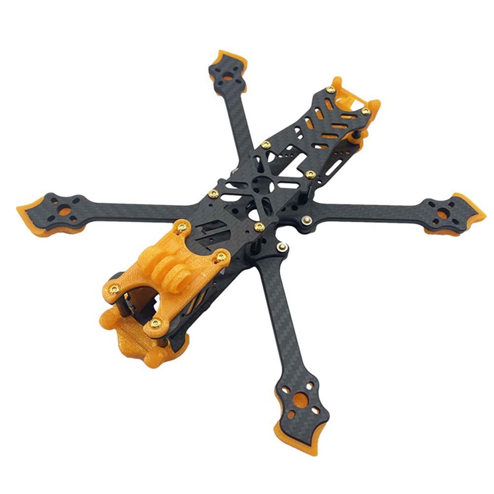 multi-rotor-parts AuroraRC Mamfu5 225mm Wheelbase 5mm Arm Thickness 3K Carbon Fiber 5 inch Frame Kit for RC Drone FPV Racing HOB1827671