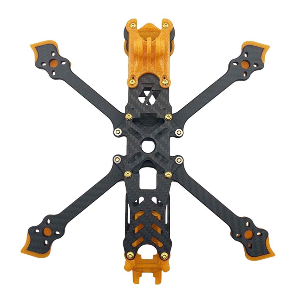 multi-rotor-parts AuroraRC Mamfu5 225mm Wheelbase 5mm Arm Thickness 3K Carbon Fiber 5 inch Frame Kit for RC Drone FPV Racing HOB1827671 1