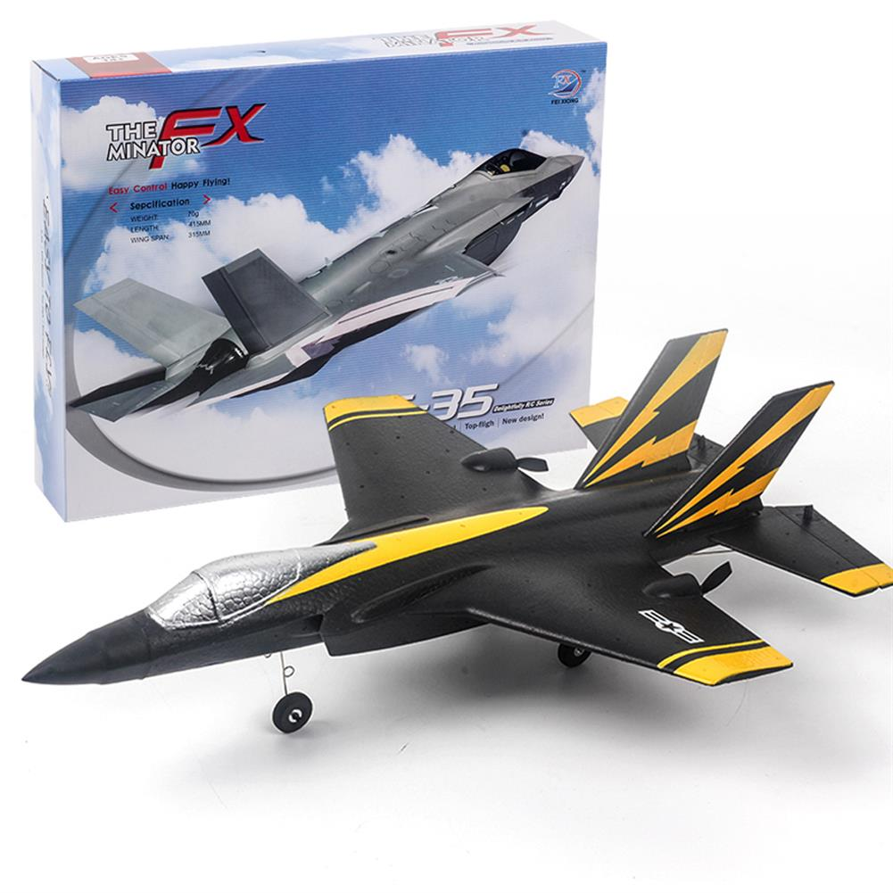rc-airplane Flybear F35 320mm Wingspan 2.4G 4CH 6-Axis Gyro EPP RC Airplane Warbird RTF HOB1828095