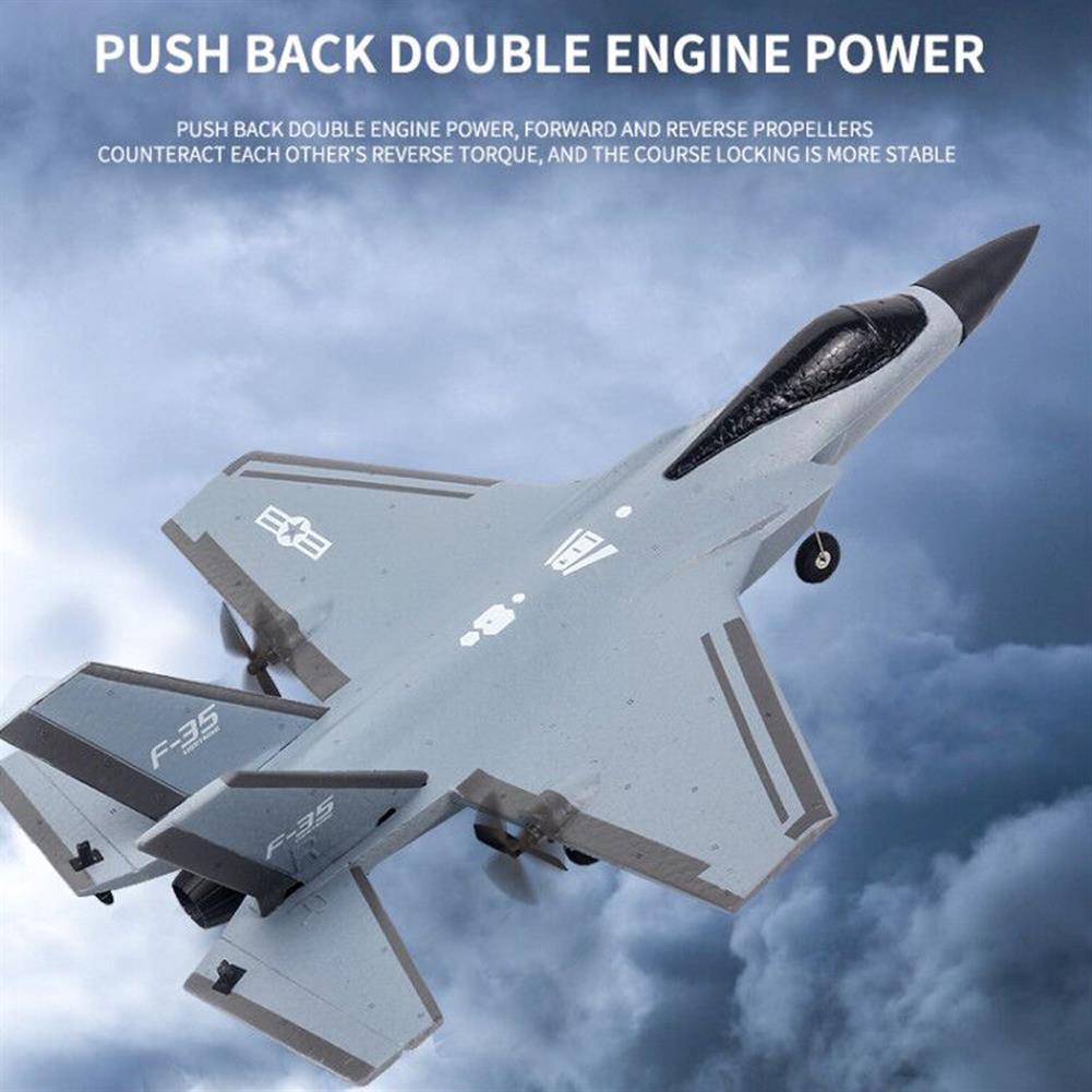 rc-airplane Flybear F35 320mm Wingspan 2.4G 4CH 6-Axis Gyro EPP RC Airplane Warbird RTF HOB1828095 3