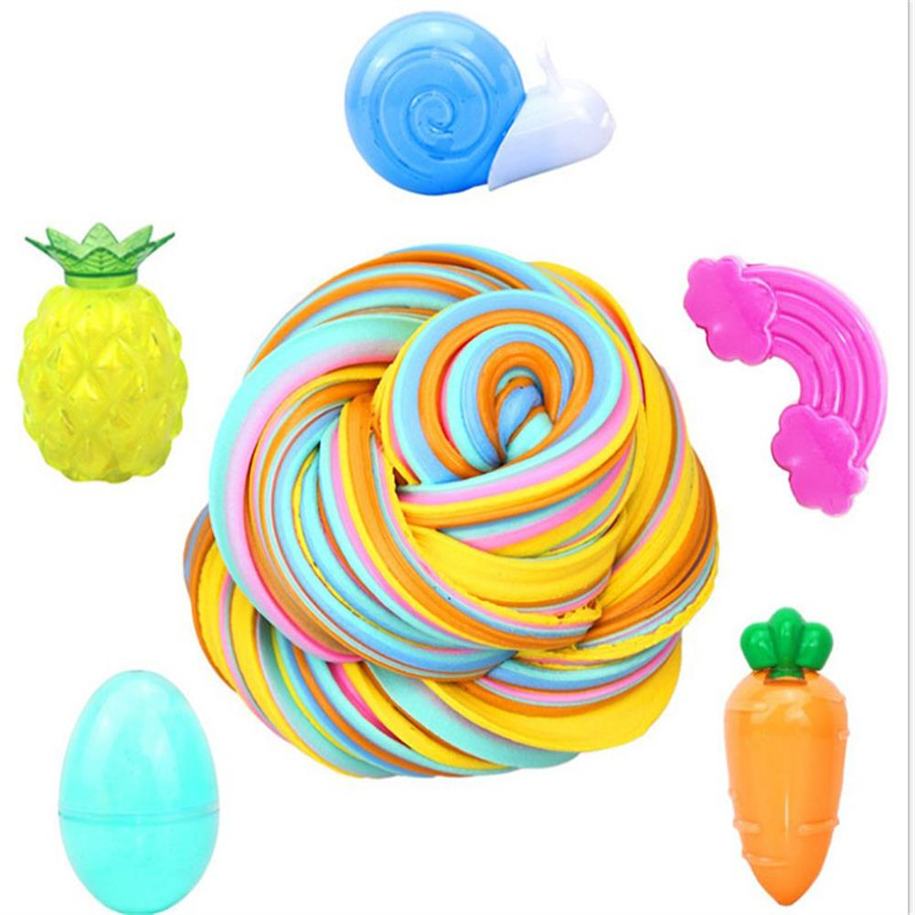 stress-relievers Areedy Rainbow 5 Color Cotton Mud Stress Relievers Set indoor Toys HOB1828123 1