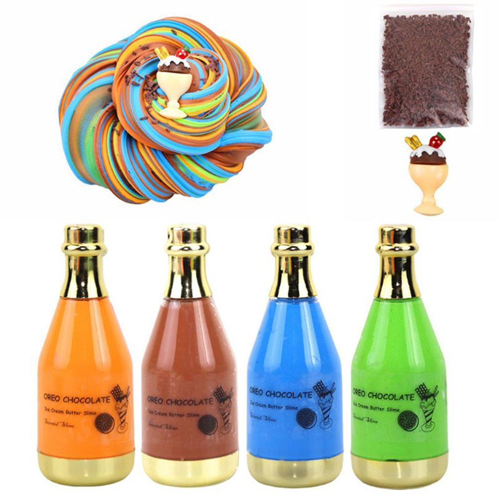 stress-relievers Areedy Z335 4-color Bottle Slime Set Stress Relievers indoor Toys HOB1828124