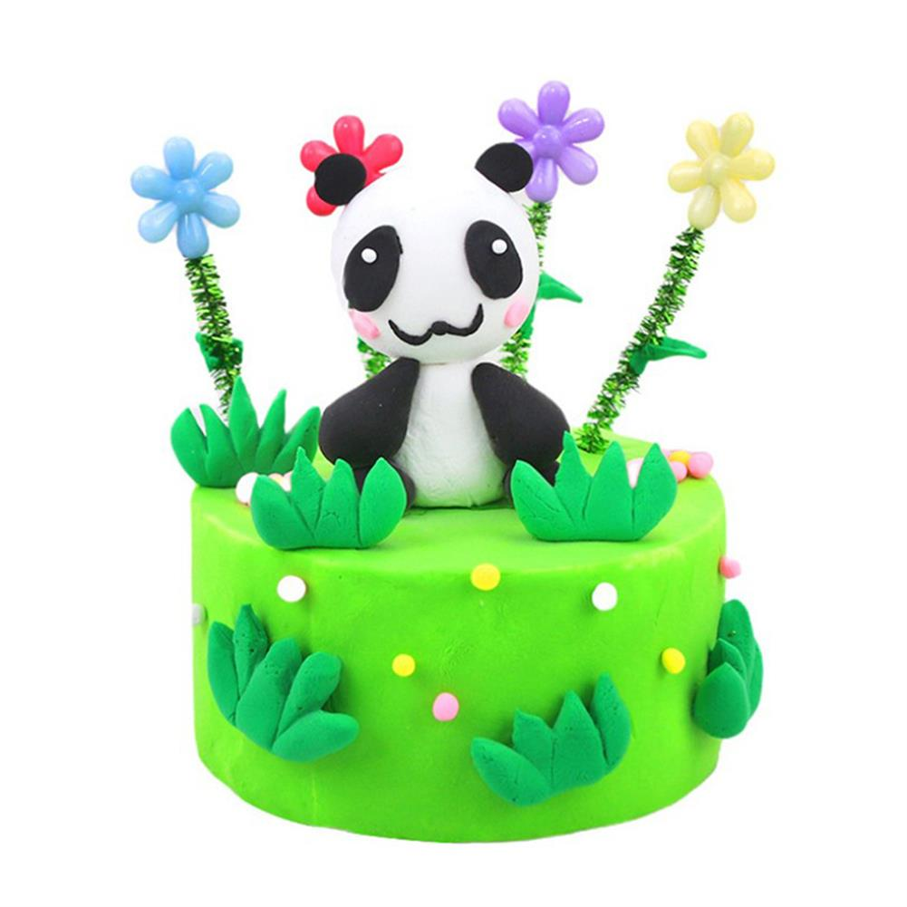 stress-relievers Areedy Z332 DIY Clay Making Lion, Strawberry, Panda Cake Clay for Kids And Adults indoor Toys HOB1828125 1