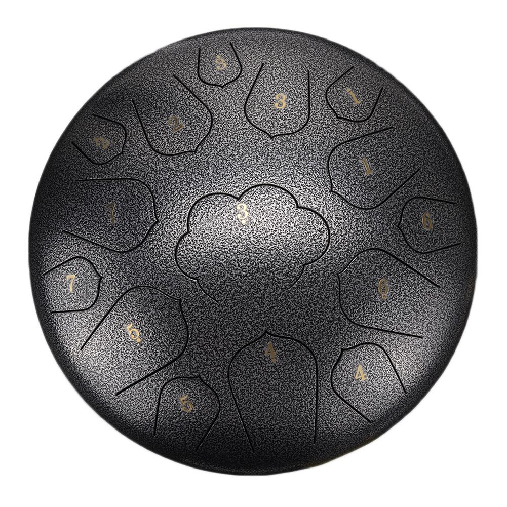 steel-drums 14 inch 15 Tone C Tune Ethereal Drum Steel Tongue Drum for Children Music Lovers Beginners HOB1828991
