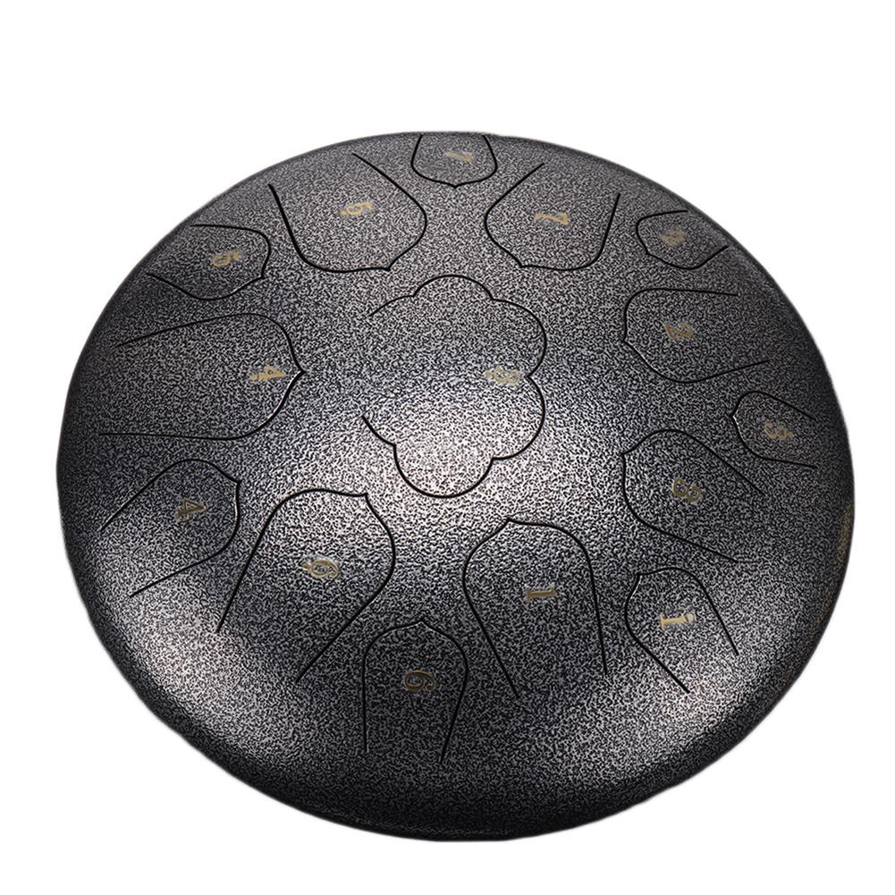 steel-drums 14 inch 15 Tone C Tune Ethereal Drum Steel Tongue Drum for Children Music Lovers Beginners HOB1828991 1