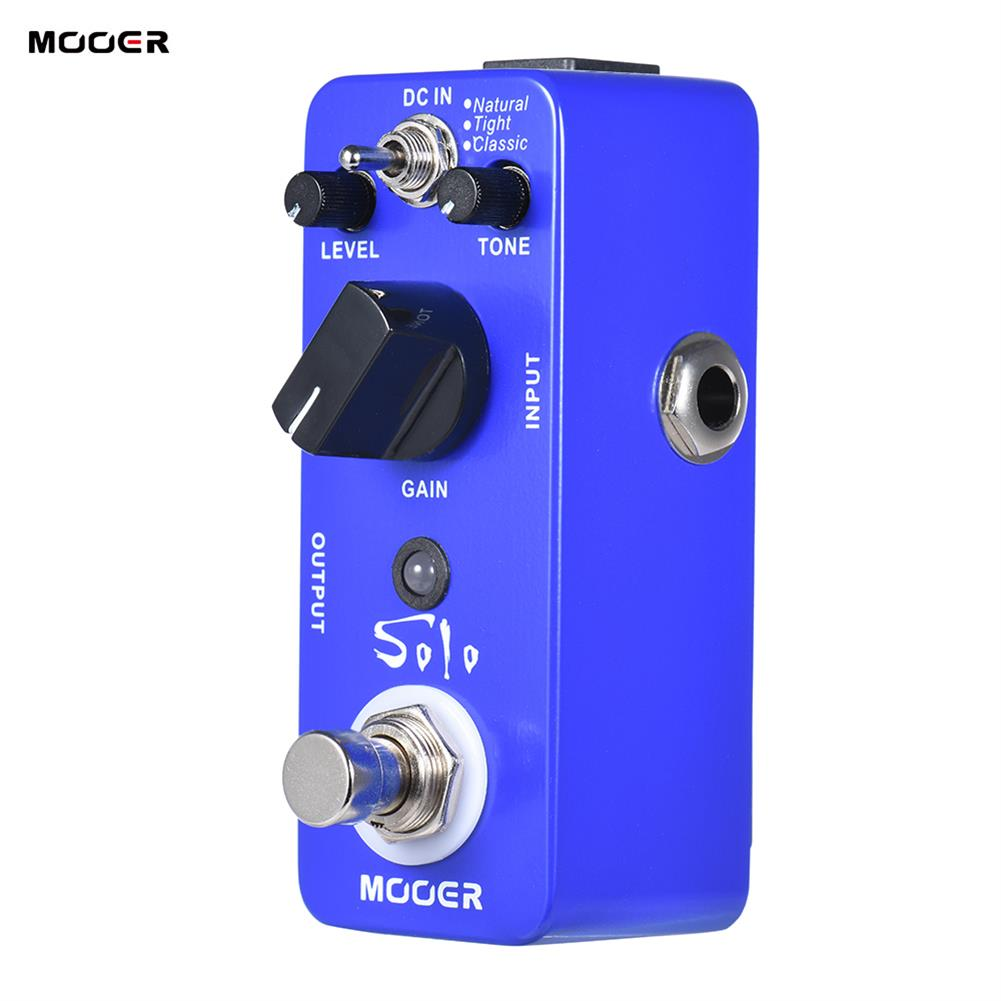 guitar-accessories MOOER MDSS NEW Effect Pedal Solo Distortion Pedal Full Metal Shell True Bypass HOB1829551 2