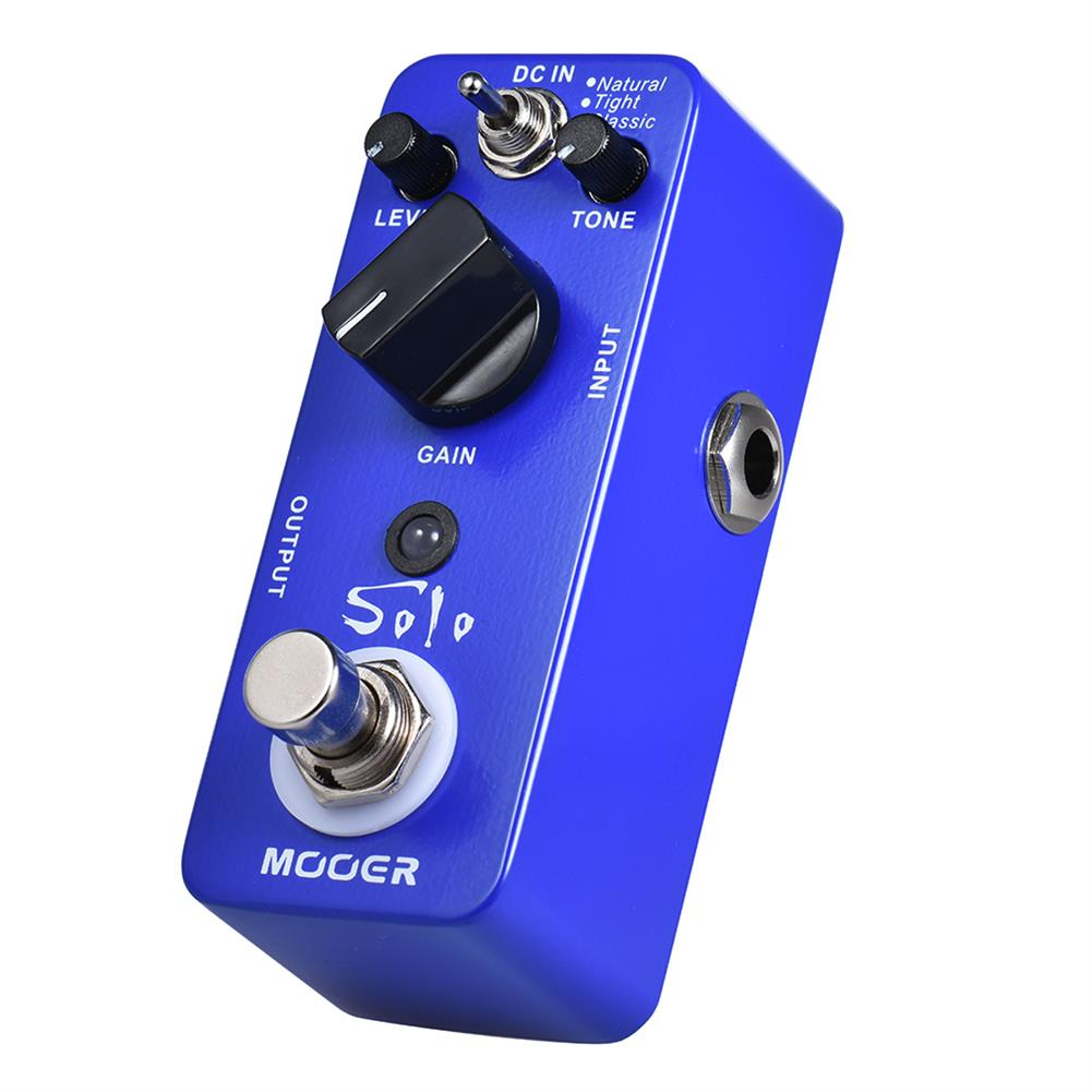 guitar-accessories MOOER MDSS NEW Effect Pedal Solo Distortion Pedal Full Metal Shell True Bypass HOB1829551 3