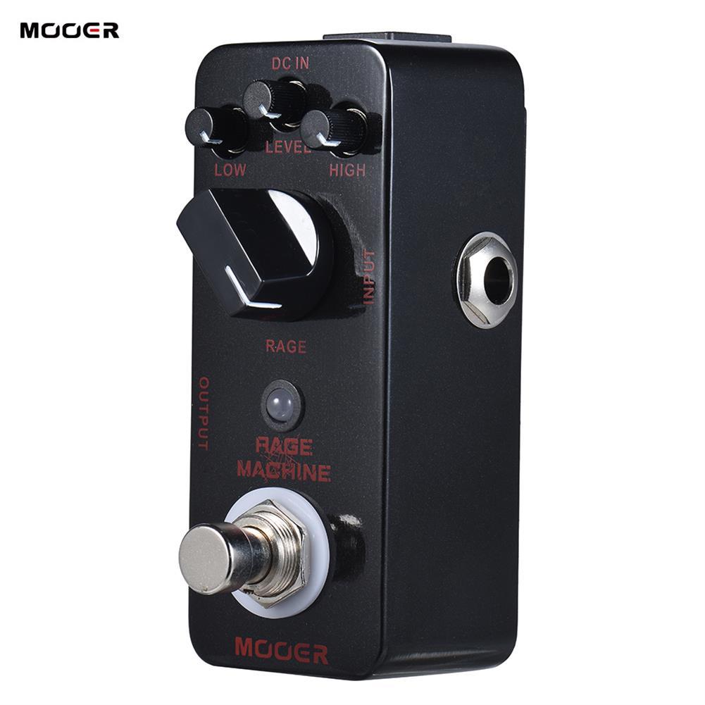 guitar-accessories MOOER Rage Machine Pedal True Bypass Excellent Sound Guitar Pedal HOB1829564 3