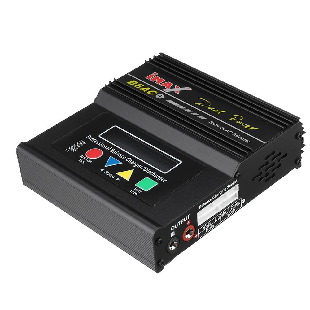battery-charger B6AC Plus 80W 6A Smart Balance Charger for LiPo Lilon LiFe NiCd NiMH Battery HOB1829804 1