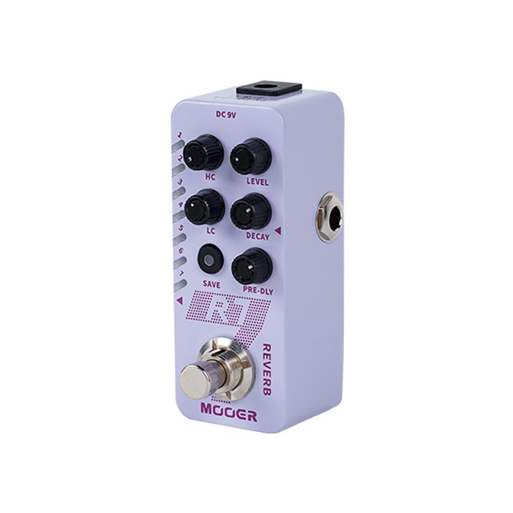 guitar-accessories Mooer M705 Digital Reverb Effect Micro Guitar Effects Pedal HOB1830084 2