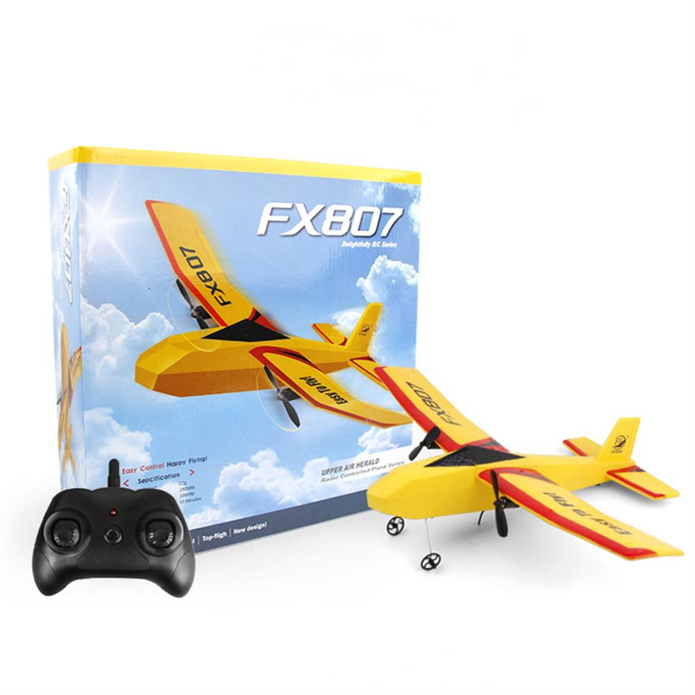 rc-airplane Flybear FX807 320mm Wingspan 2.4Ghz 2CH 3-Axis Gyro Automatic Balance EPP RC Airplane Glider Beginner RTF HOB1830368