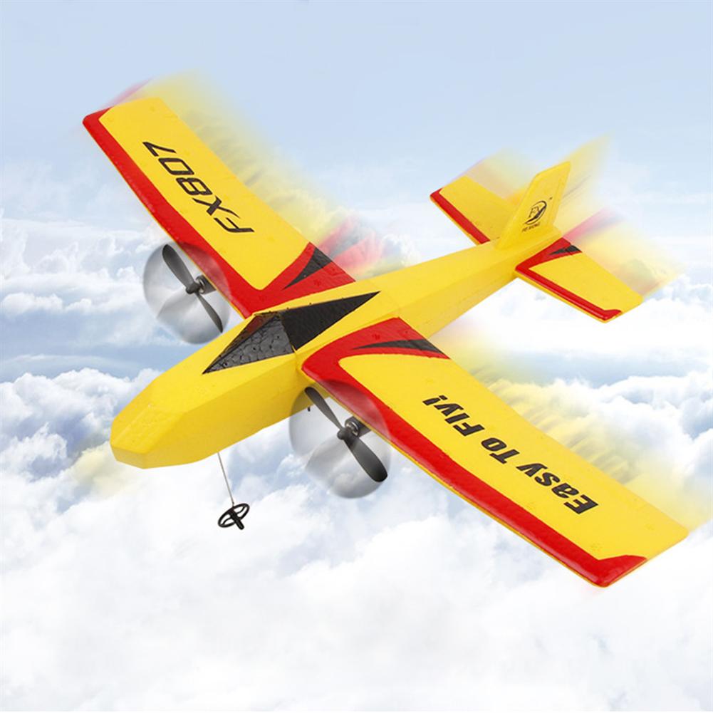 rc-airplane Flybear FX807 320mm Wingspan 2.4Ghz 2CH 3-Axis Gyro Automatic Balance EPP RC Airplane Glider Beginner RTF HOB1830368 1