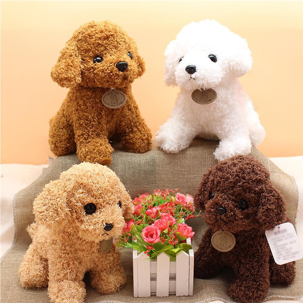 dolls-action-figure Simulation Teddy Dog Plush Toy Puppy Doll Catch Machine Doll New Gift Doll Toys HOB1830409