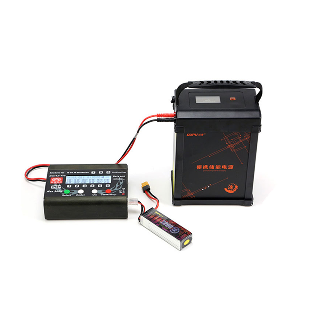 rc-quadcopter-parts DUPU Portable Power Supply Station 12V/461Wh 42A Battery charging kit for Outdoor Camping Portable Power Bank HOB1831387 1