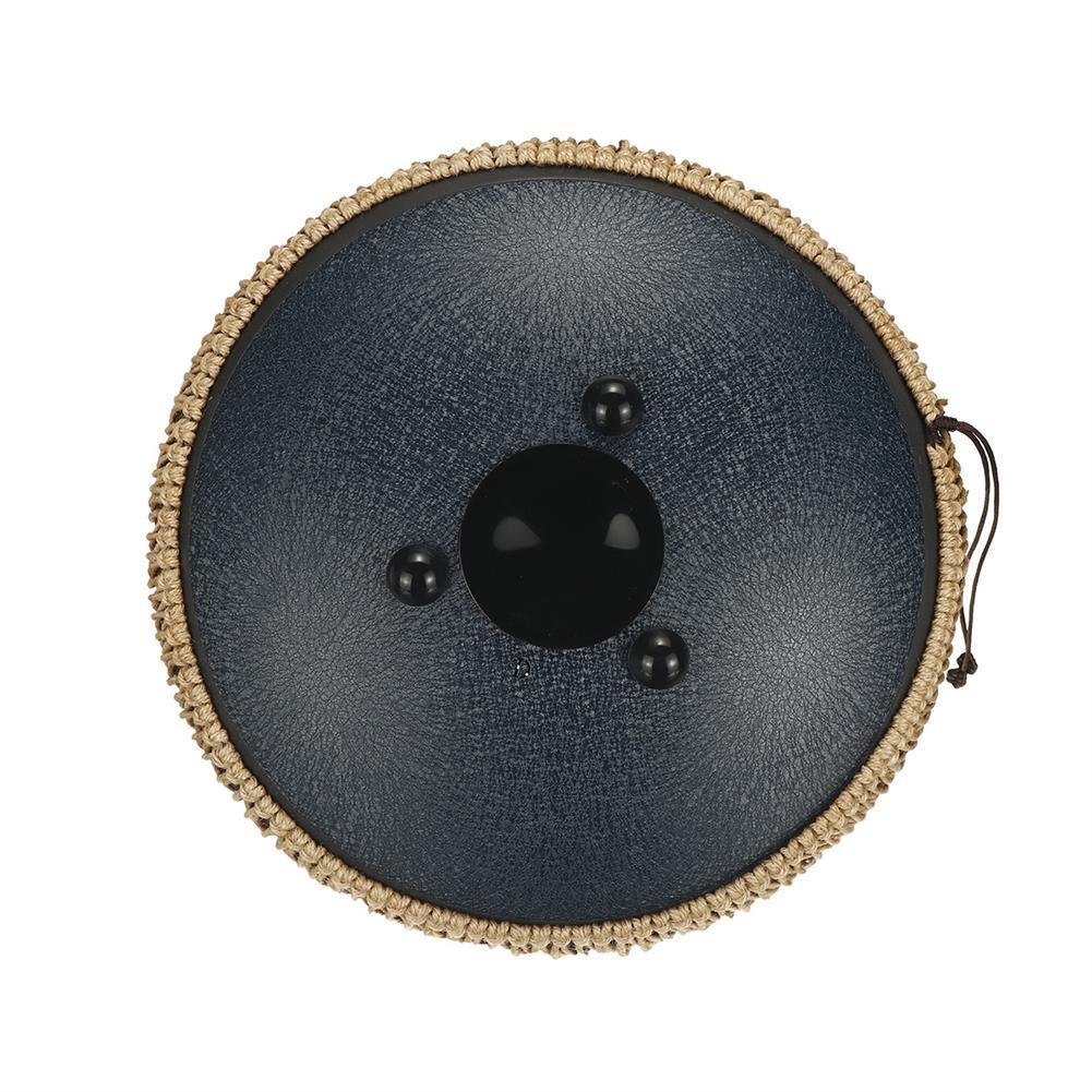 steel-drums Hluru 12.5 inch 15 Notes Steel Tongue Drum Tank Drum Music Percussion instrument+Bag HOB1832361 3