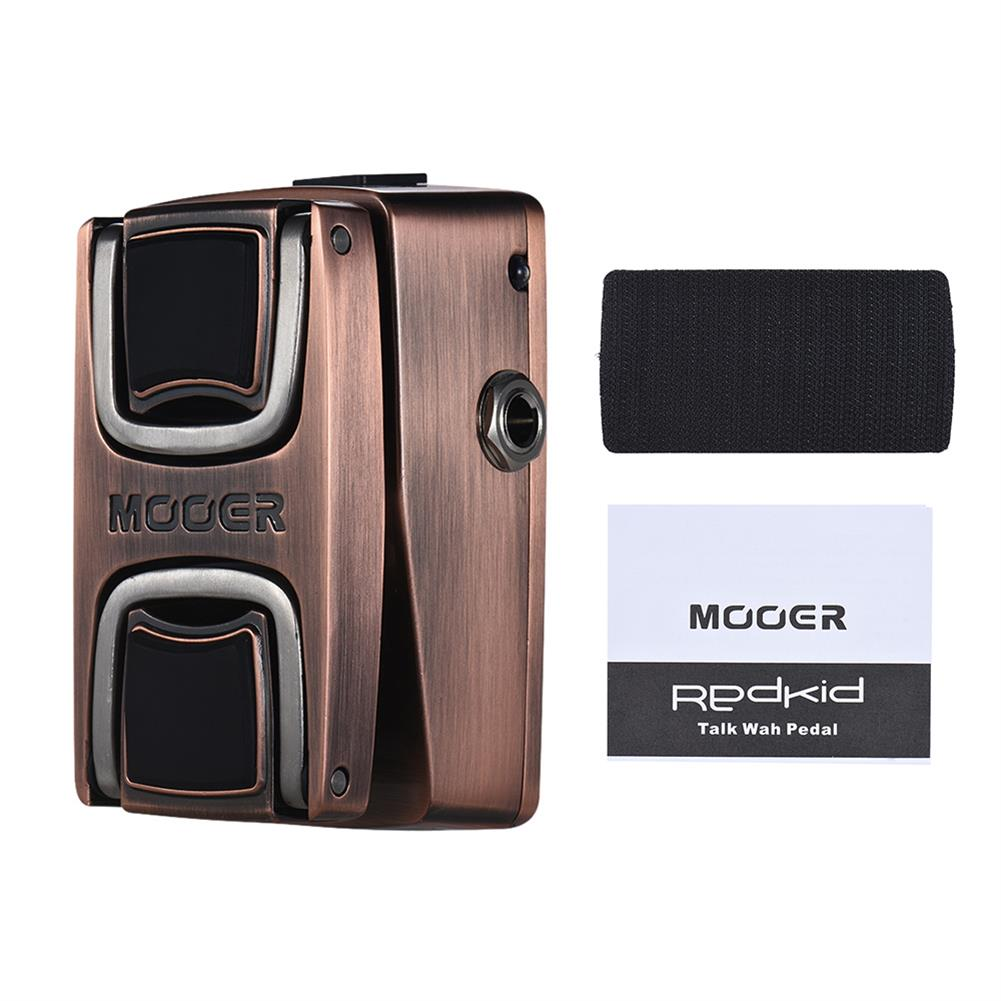guitar-accessories MOOER WTW1 Vocal Wah Pedal Guitar Effects Pedal HOB1833015