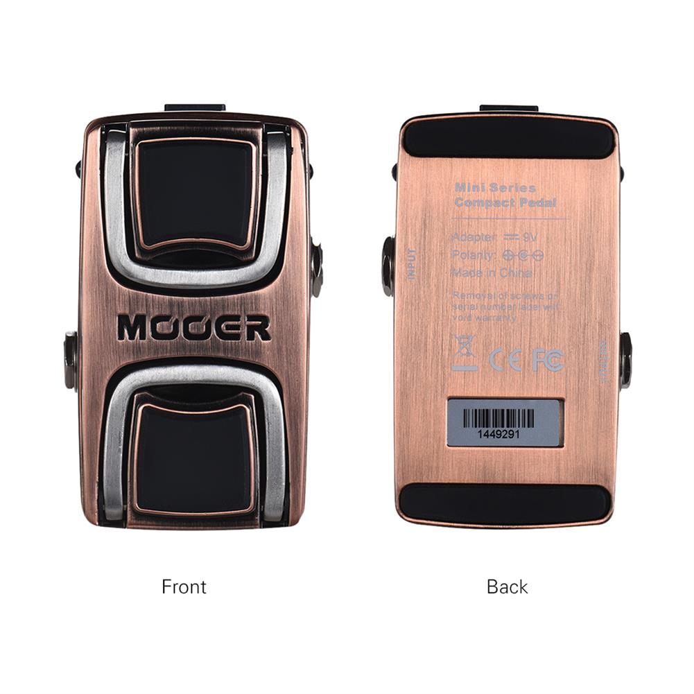guitar-accessories MOOER WTW1 Vocal Wah Pedal Guitar Effects Pedal HOB1833015 1