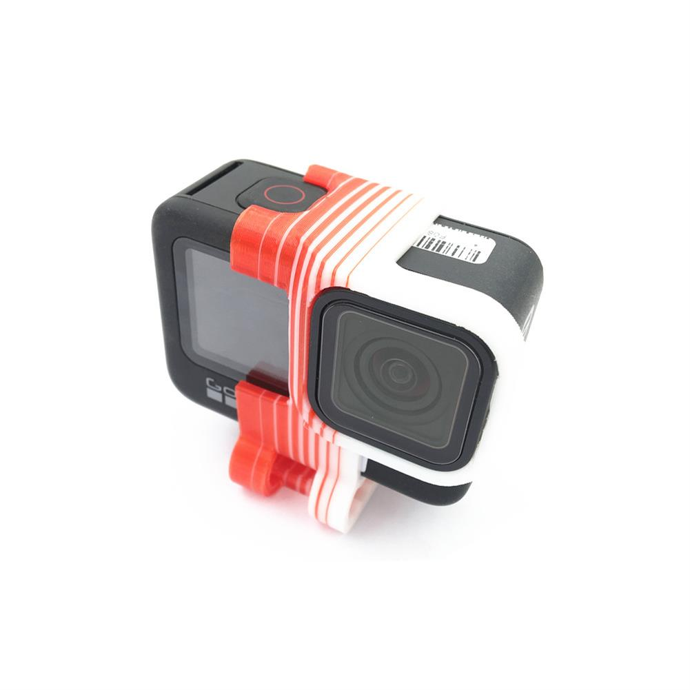 fpv-system URUAV Gopro9 Sport Camera Anti Vibration Mount Shock Mount TPU for FPV Racing RC Drone 66*51*43mm HOB1834005