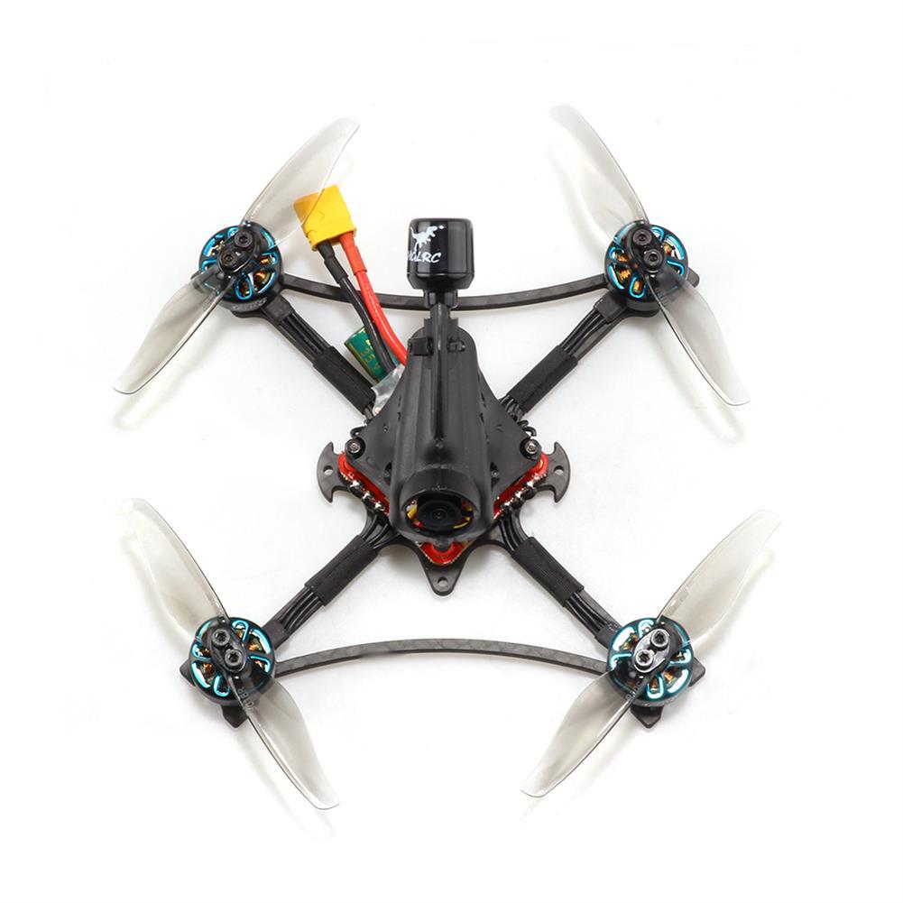 fpv-racing-drone HGLRC Petrel 120X 120mm 6S Zeus13 AIO F4 3 inch Ultralight Toothpick FPV Racing Drone PNP BNF w/ 1303.5 2500KV Motor 25-350mW VTX CADDX ANT 1000TVL Camera HOB1835103 1