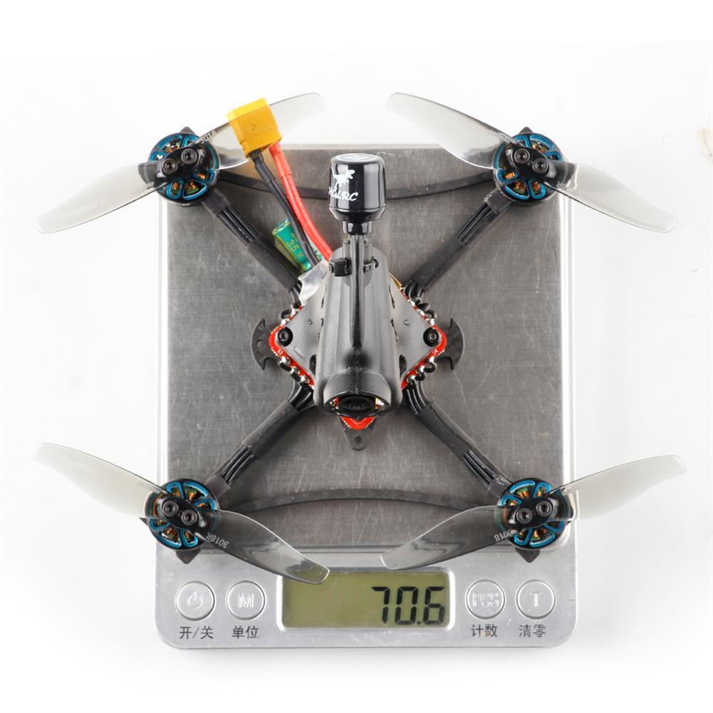 fpv-racing-drone HGLRC Petrel 120X 120mm 6S Zeus13 AIO F4 3 inch Ultralight Toothpick FPV Racing Drone PNP BNF w/ 1303.5 2500KV Motor 25-350mW VTX CADDX ANT 1000TVL Camera HOB1835103 2