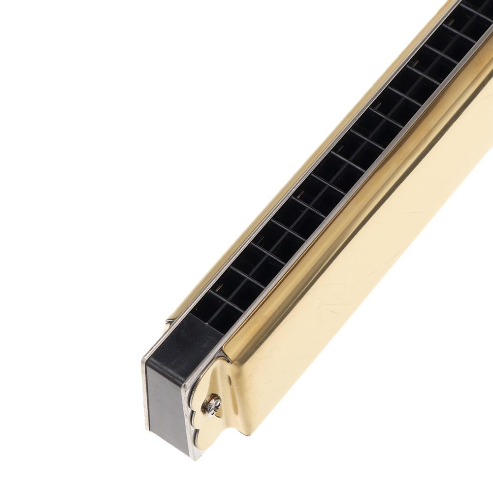 harmonica Easttop T2410 24 Holes C Key Octave Harmonica with Leather Box HOB1835847 3
