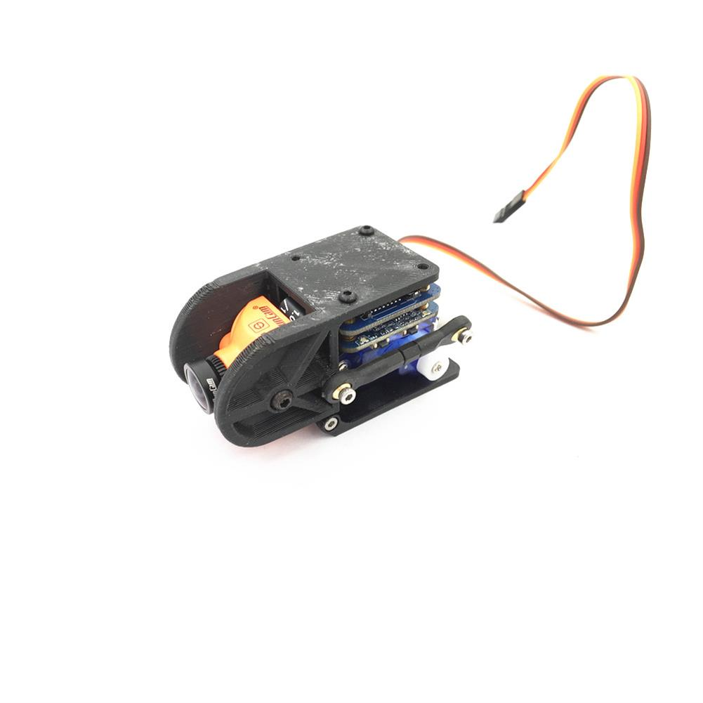 fpv-system URUAV Steering Gear Gimbal Can Extend the Second Axis for Runcam Split Mini FPV Camera FPV Racing RC Drone HOB1836125 2