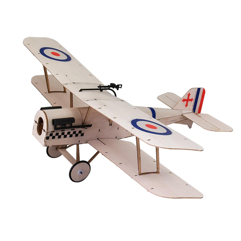 rc-airplane Dancing Wings Hobby SE5A 378mm Wingspan Balsa Wood Laser Cut Biplane RC Airplane HOB1836584