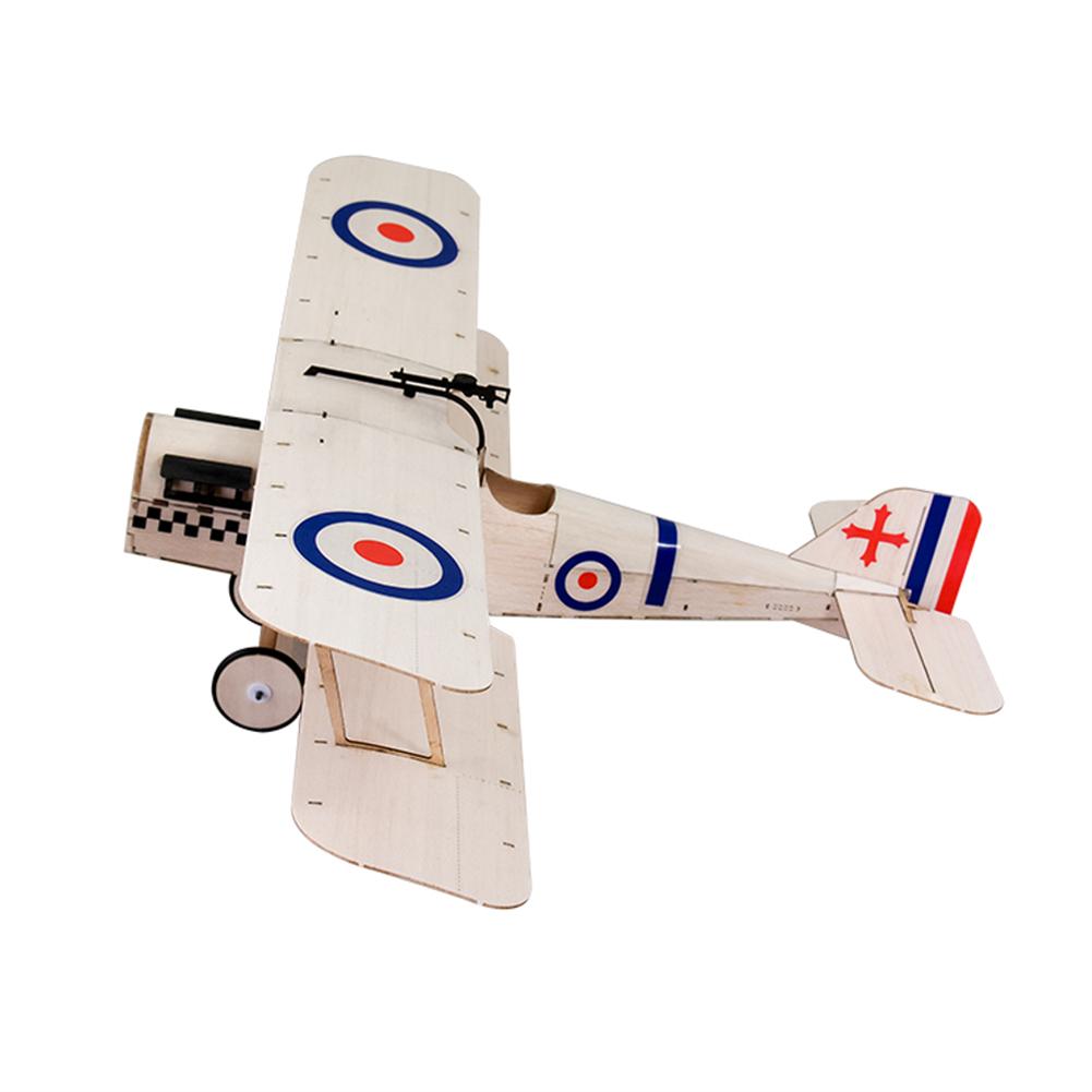 rc-airplane Dancing Wings Hobby SE5A 378mm Wingspan Balsa Wood Laser Cut Biplane RC Airplane HOB1836584 1