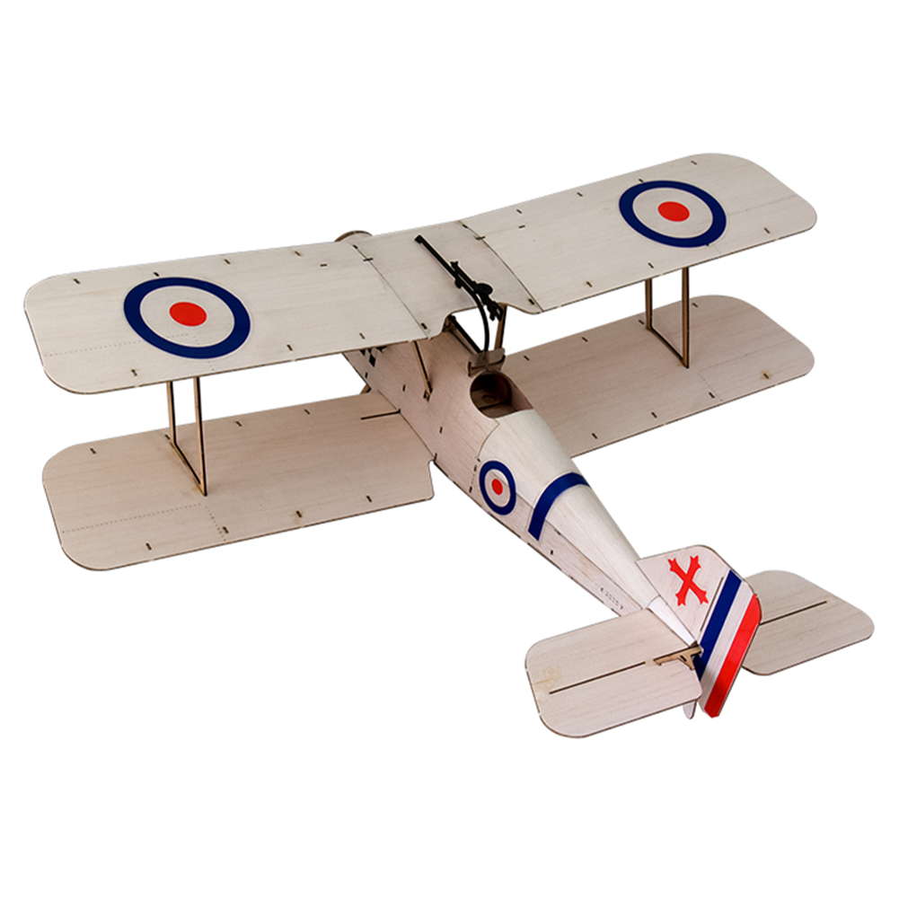 rc-airplane Dancing Wings Hobby SE5A 378mm Wingspan Balsa Wood Laser Cut Biplane RC Airplane HOB1836584 2