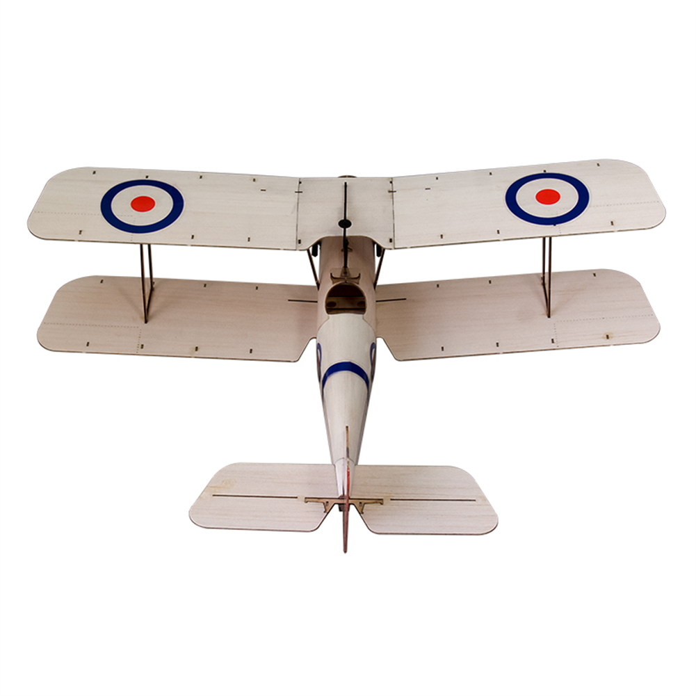 rc-airplane Dancing Wings Hobby SE5A 378mm Wingspan Balsa Wood Laser Cut Biplane RC Airplane HOB1836584 3