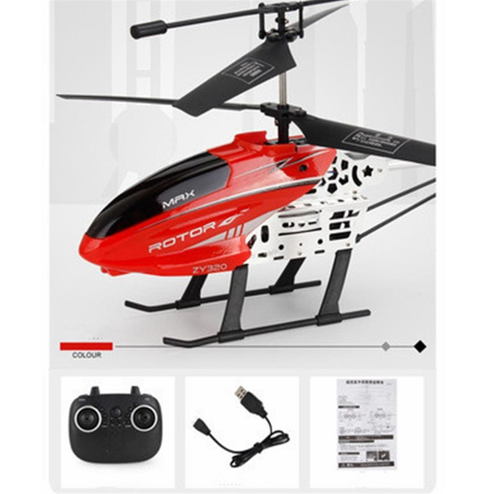 rc-helicopter ZY320 3.5CH Altitude Hold Fall Resistant Remote Control Helicopter RTF HOB1836864 3