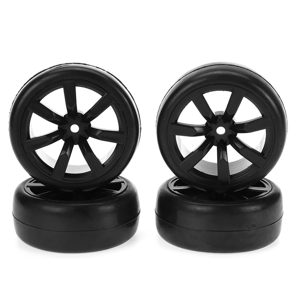 rc-car-parts WPL D12 1/10 Upgraded RC Car Wheel Tire Drift Soft Tire W/ Conncetor RC Car Parts HOB1836869