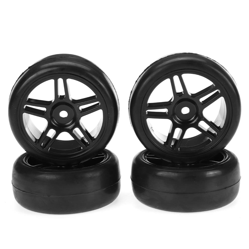 rc-car-parts WPL D12 1/10 Upgraded RC Car Wheel Tire Drift Soft Tire W/ Conncetor RC Car Parts HOB1836869 3