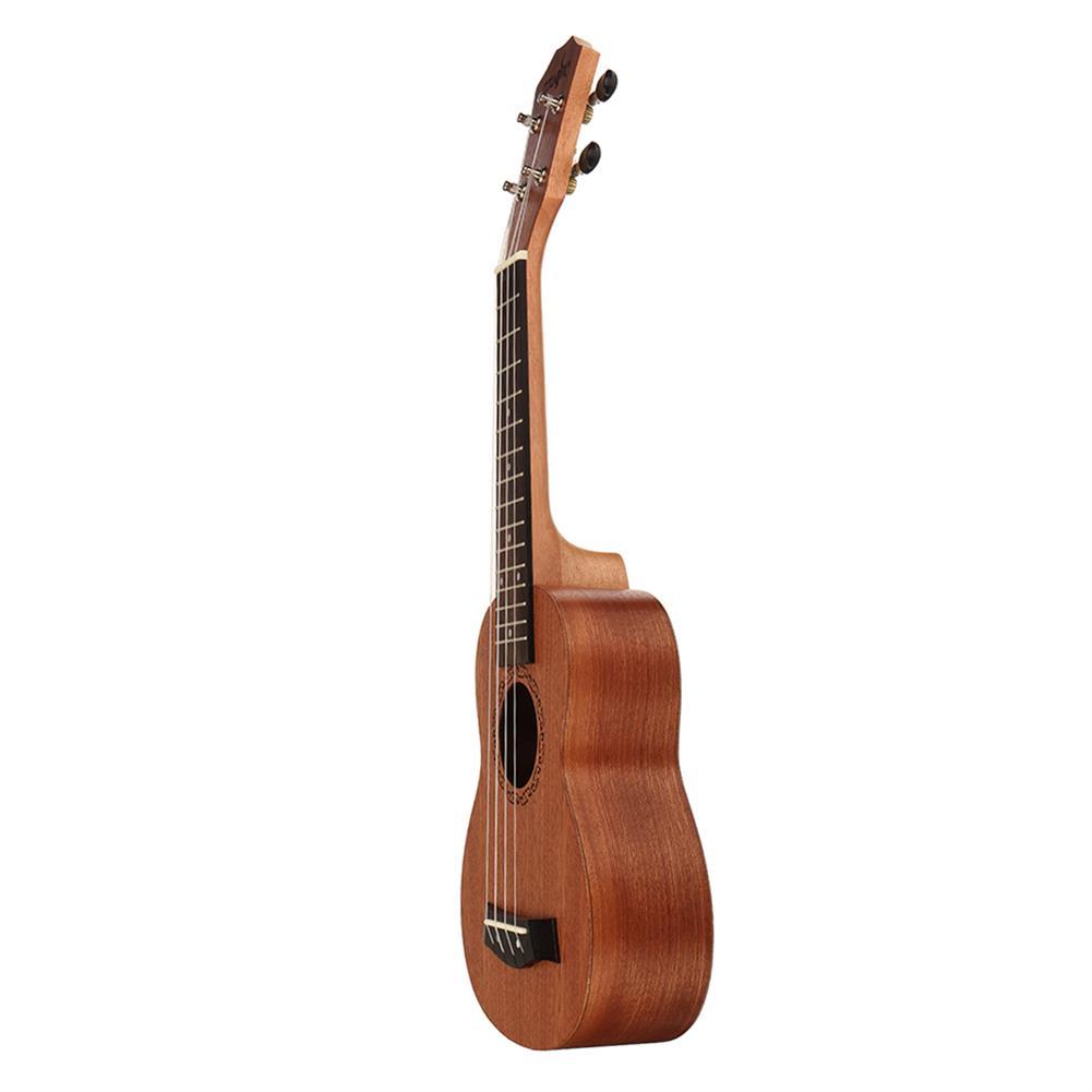ukulele 21 inch 4 Strings Sapele Ukulele w/Gig Bag,Tuner,Capo,Nylon Strings,Picks,Strap for Beginners,Adults HOB1837197 2