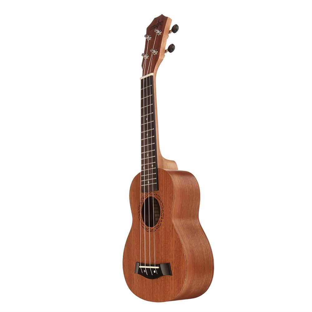 ukulele 21 inch 4 Strings Sapele Ukulele w/Gig Bag,Tuner,Capo,Nylon Strings,Picks,Strap for Beginners,Adults HOB1837197 3