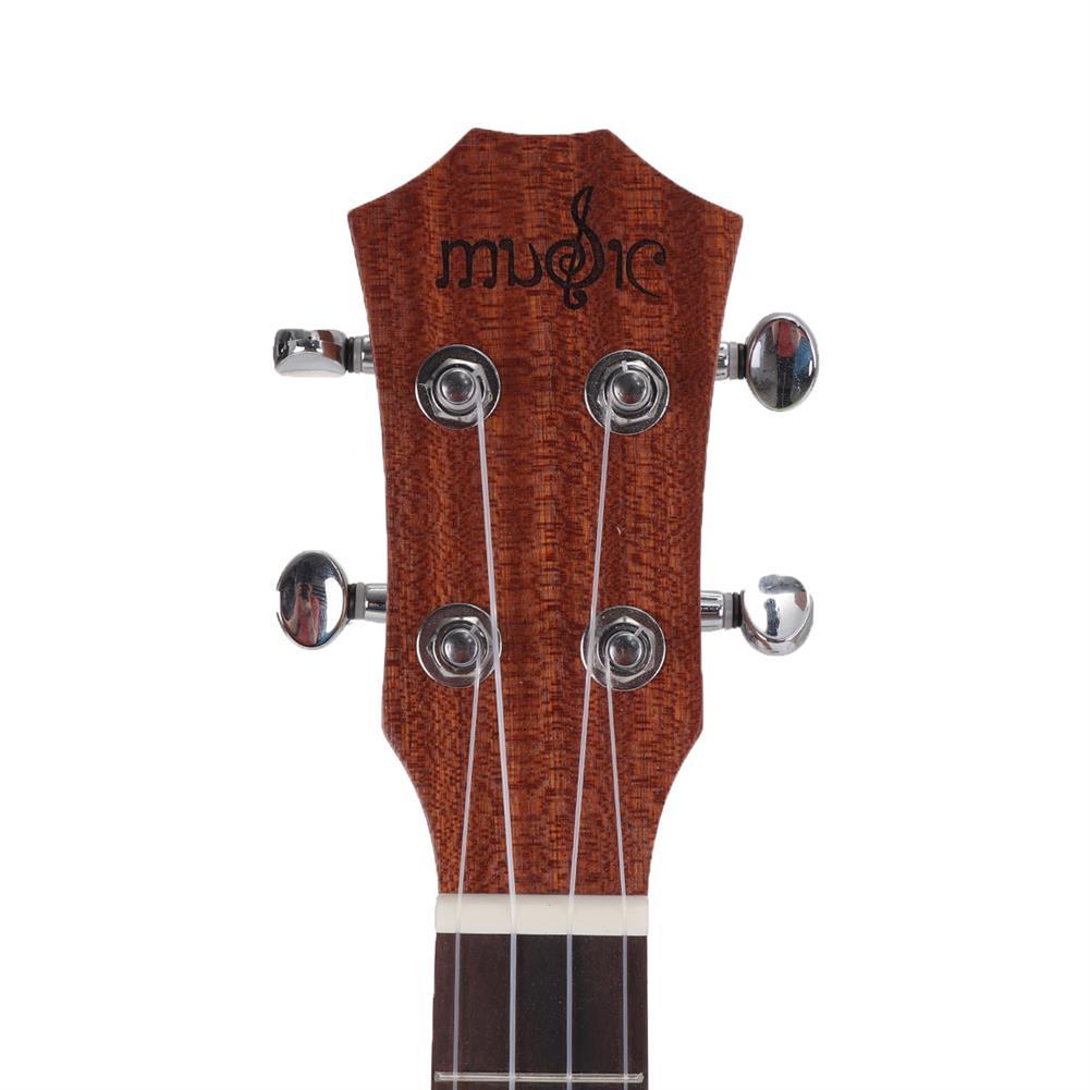 ukulele 26 inch 4 Strings Spruce Ukulele w/Gig Bag,Tuner,Capo,Nylon Strings,Picks,Strap for Beginners,Adults HOB1837215 3