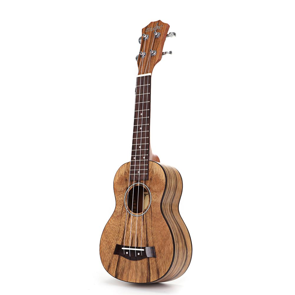 ukulele 21/23 inch 4 Strings Walnut Ukulele w/Gig Bag,Tuner,Capo,Nylon Strings,Picks,Strap for Beginners,Adults HOB1837238 1