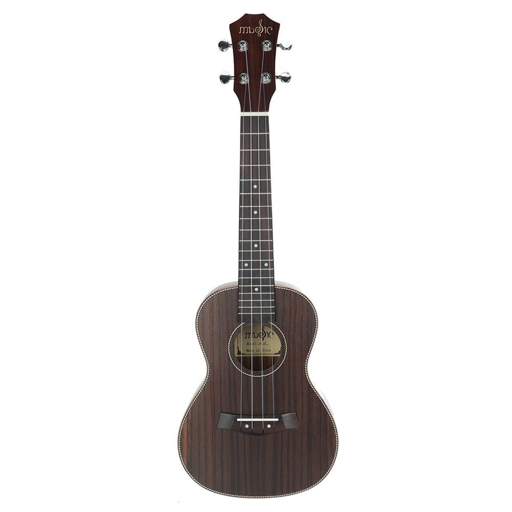 ukulele 23 inch 4 Strings Rosewood Ukulele w/Gig Bag,Tuner,Capo,Nylon Strings,Picks,Strap for Beginners,Adults HOB1837249 1