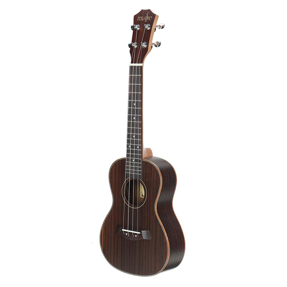ukulele 23 inch 4 Strings Rosewood Ukulele w/Gig Bag,Tuner,Capo,Nylon Strings,Picks,Strap for Beginners,Adults HOB1837249 2