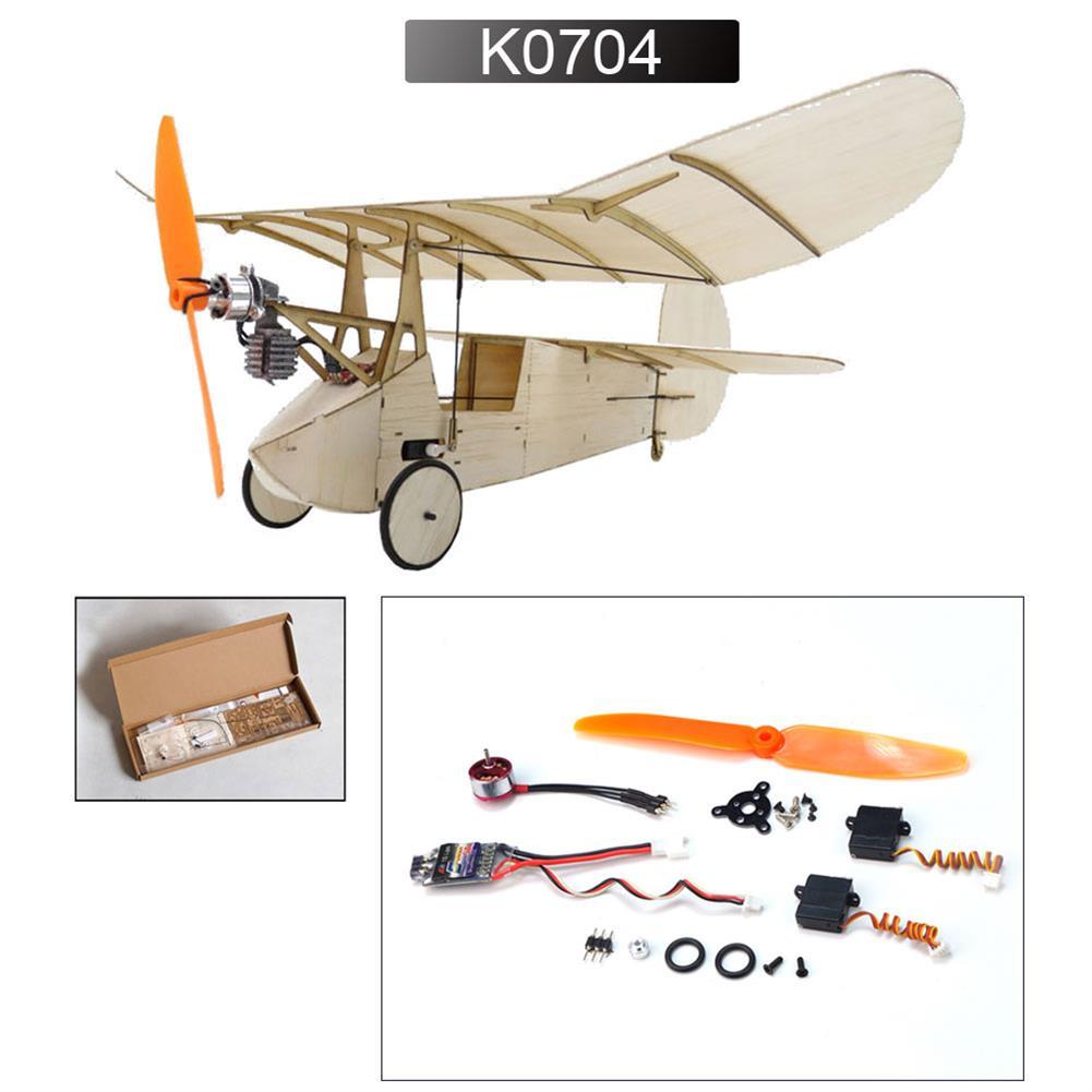 rc-airplane Dancing Wings Hobby K7 358mm Wingspan Ultra-micro Balsa Wood Laser Cut RC Airplane HOB1837927 3
