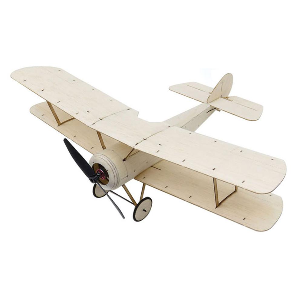 rc-airplane Dancing Wings Hobby K6 Sopwith Pup 378mm Wingspan Balsa Wood Laser Cut Micro RC Airplane Warbird Biplane HOB1838000