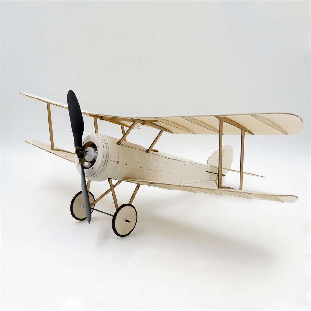 rc-airplane Dancing Wings Hobby K6 Sopwith Pup 378mm Wingspan Balsa Wood Laser Cut Micro RC Airplane Warbird Biplane HOB1838000 1