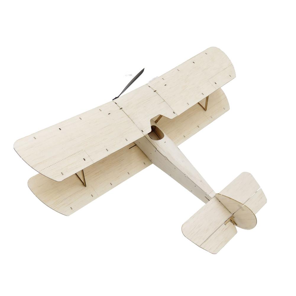 rc-airplane Dancing Wings Hobby K6 Sopwith Pup 378mm Wingspan Balsa Wood Laser Cut Micro RC Airplane Warbird Biplane HOB1838000 2