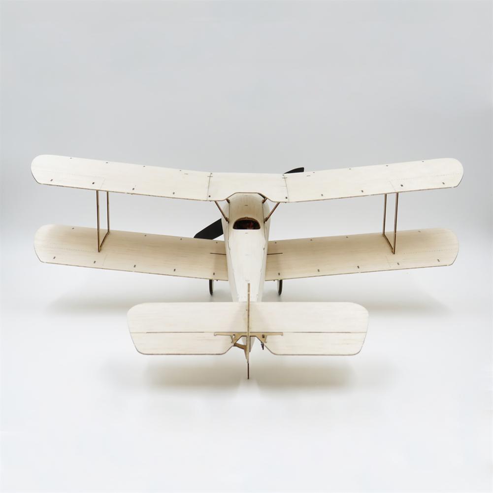rc-airplane Dancing Wings Hobby K6 Sopwith Pup 378mm Wingspan Balsa Wood Laser Cut Micro RC Airplane Warbird Biplane HOB1838000 3