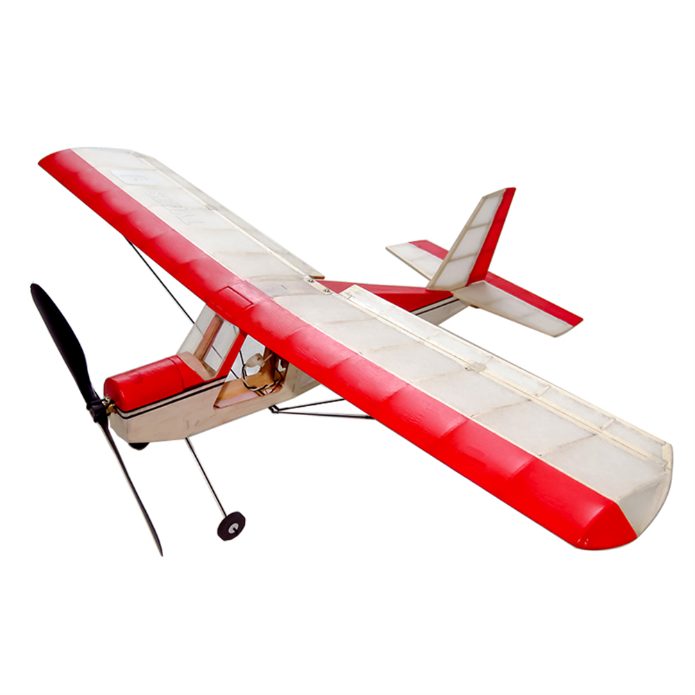 rc-airplane Dancing Wings Hobby K5 Aeromax 400mm Wingspan Balsa Wood Laser Cut Ultra-micro indoor RC Airplane HOB1838346