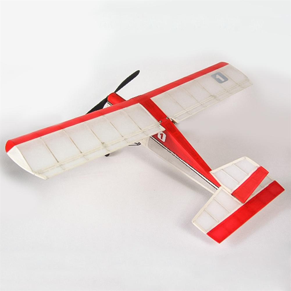 rc-airplane Dancing Wings Hobby K5 Aeromax 400mm Wingspan Balsa Wood Laser Cut Ultra-micro indoor RC Airplane HOB1838346 2