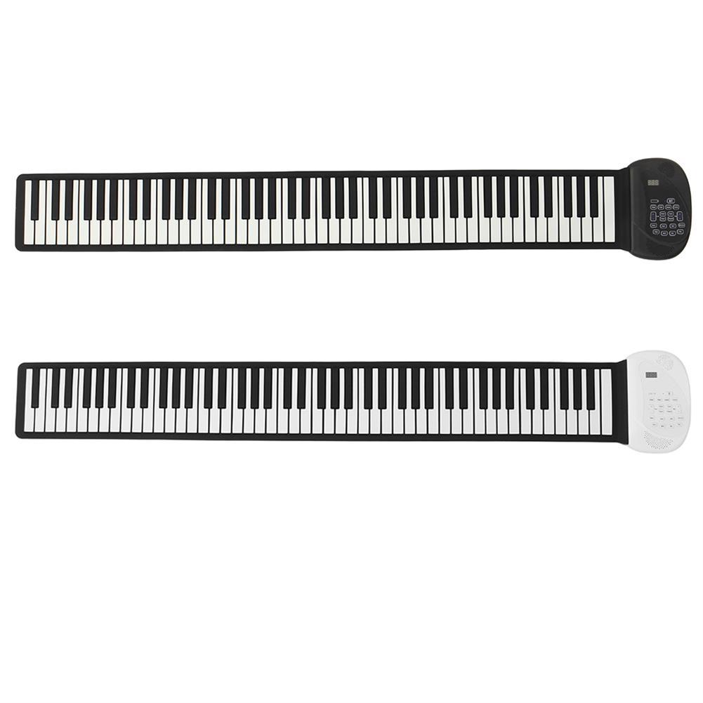 roll-up-piano Huasky 88 Standard Keys Foldable Portable Electronic Keyboard Roll Up Piano HOB1838352